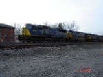 CSX 8764 & CSX 649 head EB on the #2 Track
